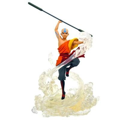 Aang Avatar: The Last Airbender Nickelodeon Diamond Select Gallery PVC Diorama Statue (PRE-ORDER)