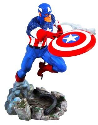 Captain America Versus Marvel Diamond Select Marvel Gallery PVC Diorama Statue