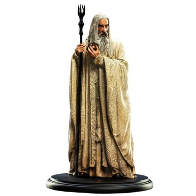 Saruman the White The Lord of the Rings WETA Workshop Miniature Statue (PRE-ORDER)