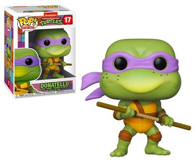 Donatello Teenage Mutant Ninja Turtles Nickelodeon Funko Pop Retro Toys 17