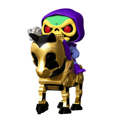 Skeletor on Night Stalker Masters of the Universe Funko Pop Rides 278
