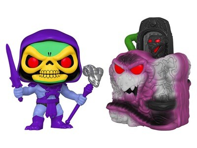 Skeletor with Snake Mountain Masters of the Universe Funko Pop Town 23