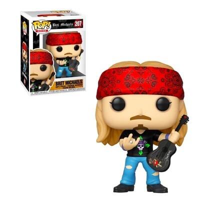 Bret Michaels Funko Pop Rocks 207