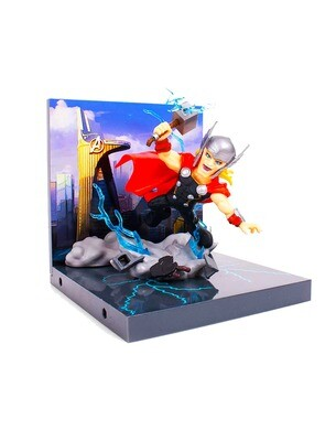 Thor Avengers Marvel The Loyal Subjects Superama Collector Series Diorama Figure