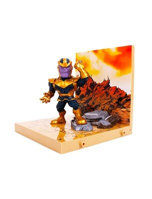 Thanos Avengers Marvel The Loyal Subjects Superama Collector Series Diorama Figure