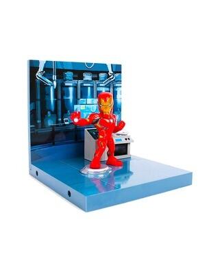 Iron Man Avengers Marvel The Loyal Subjects Superama Collector Series Diorama Figure