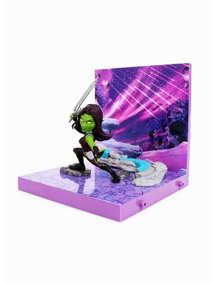Gamora Guardians of the Galaxy Marvel The Loyal Subjects Superama Collector Series Diorama Figure