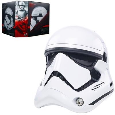 First Order Stormtrooper Star Wars The Black Series Premium Electronic Helmet Prop Replica
