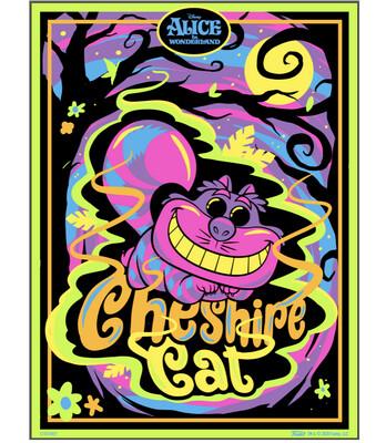 Cheshire Cat (Black Light) Alice in Wonderland Disney Funko Pop Poster