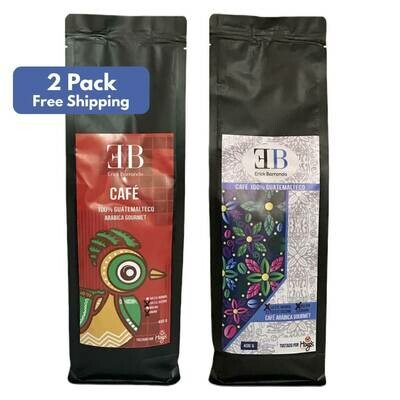 2 Pound Pack - EB Coffee (Free US Shipping)