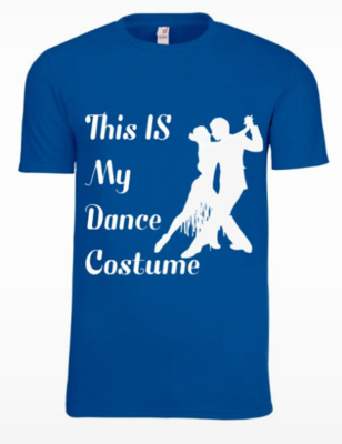 Mens Dance T Shirt ( this is my dance costume -partner dance)