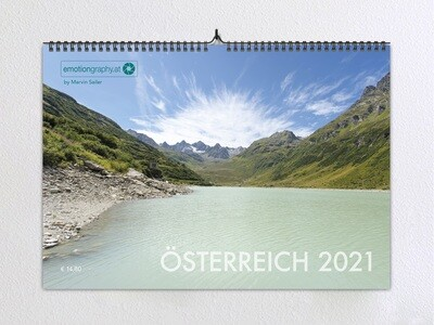 """""""Österreich 2021"""" - Wandkalender"""