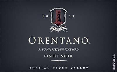 2018 Pinot Noir, R. Buoncristiani Vineyard, Russian River Valley