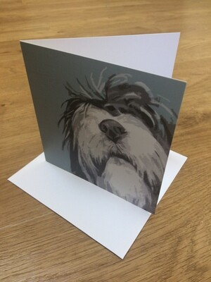 'I Look up to You' Greetings Card