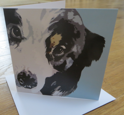 'Charlie' Blank Greetings Card