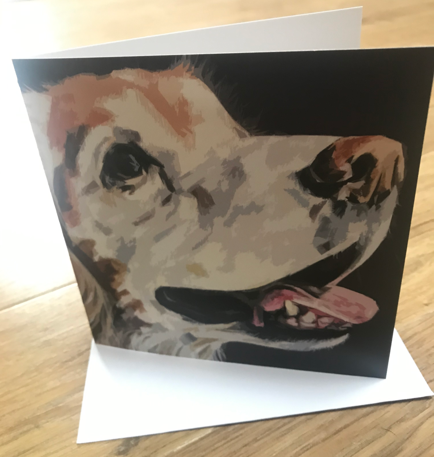 'How Can I Resist!' Blank Greetings Card