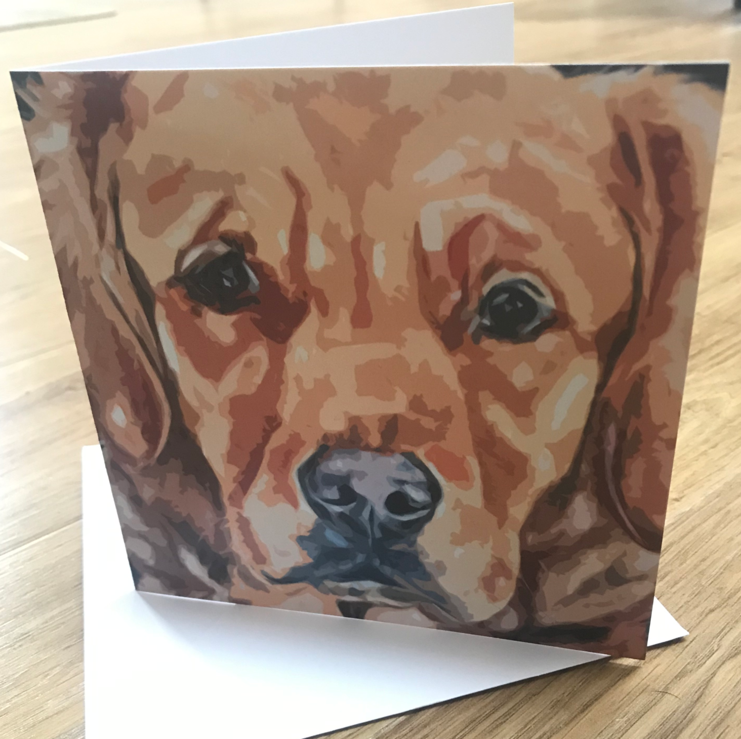 'Contemplation' Blank Greetings Card