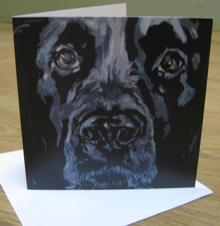 'Ronnie' Blank Greetings Card