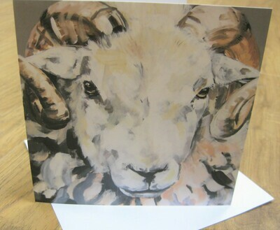 'Herdwick Tup' Blank Greetings Card