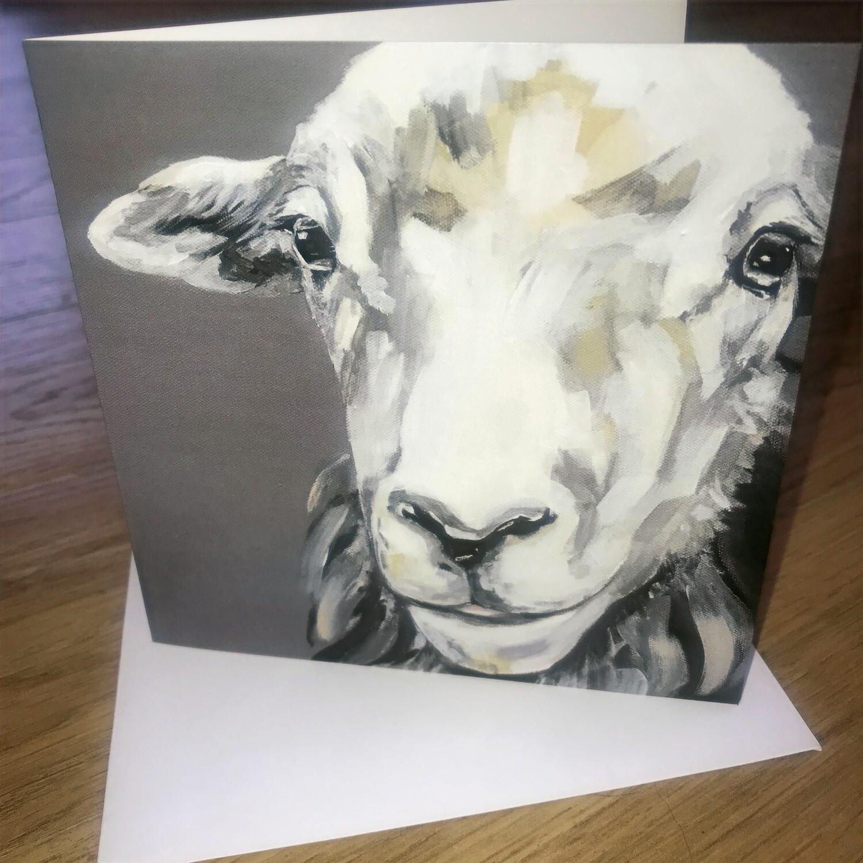 'Herdwick Ewe' Blank Greetings Card