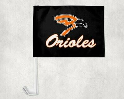 Augusta Oriole Car Flag