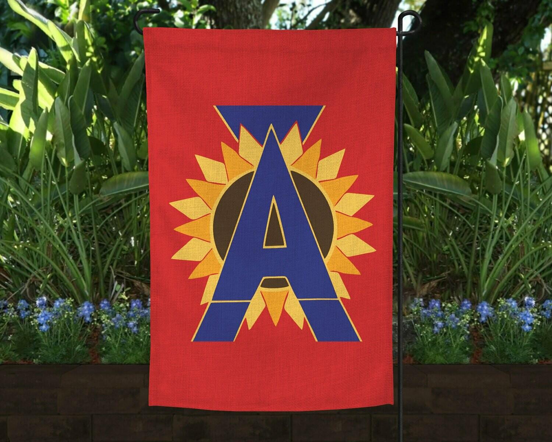 Linen Garden Flag