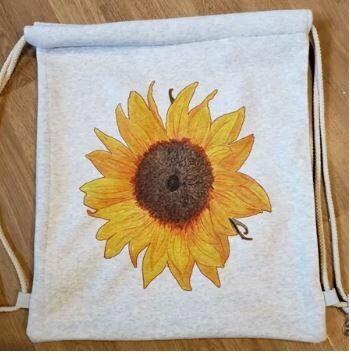 Sweatshirt Drawstring bags (Sublimation)