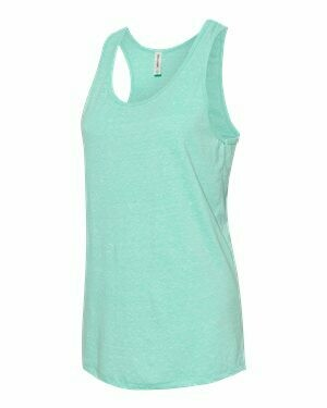 JERZEES - Women's Snow Heather Jersey Racerback Tank Top (Sublimation)
