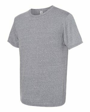 JERZEES - Snow Heather Jersey Crew T-Shirt (Sublimation)