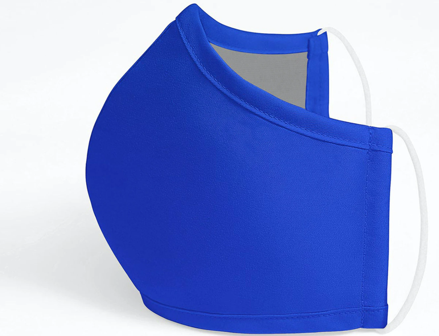 ADULT ANTIMICROBIAL FACE MASK -BLUE