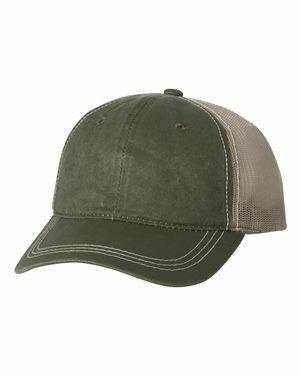 Outdoor Cap - Weathered Mesh-Back Cap
