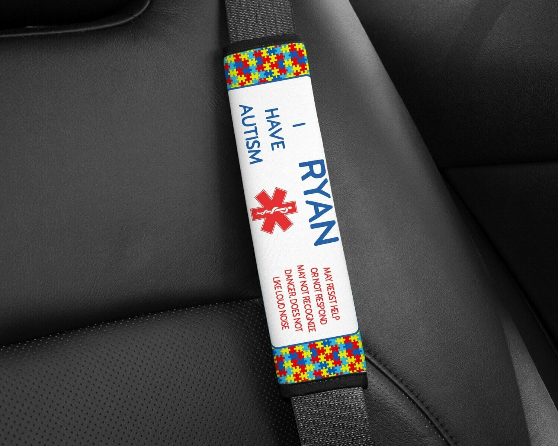 Custom Seat Belt Pads