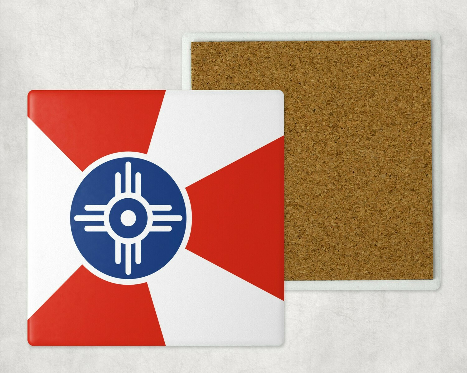 WICHITA FLAG SANDSTONE COASTER