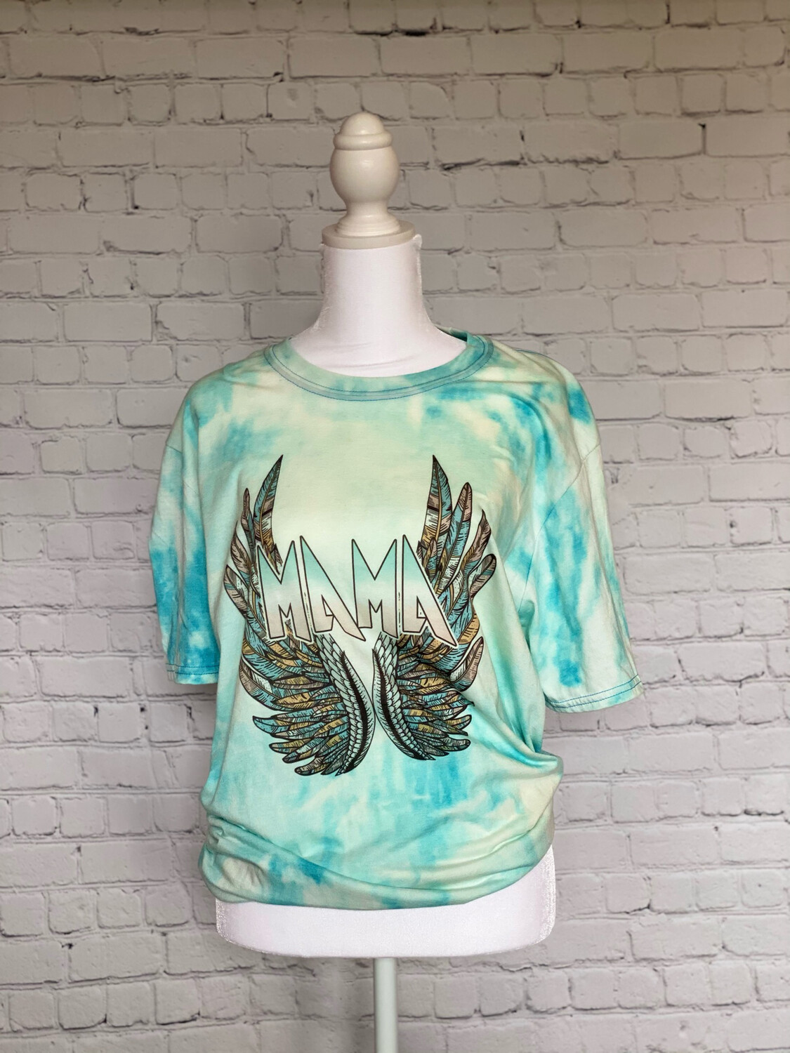 Mama Wings Bleached T-Shirt
