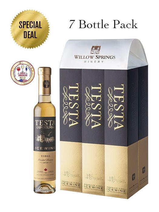 2016 TESTA VIDAL ICEWINE 200ml (7 Bottle Pack)