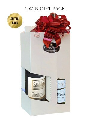 Twin Gift Pack 2014 Sauvignon Blanc & 2018 Moraine Red