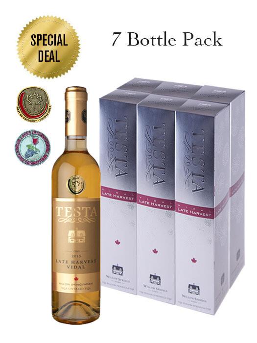 2015 LATE HARVEST VIDAL 500ml (7 Bottle Pack)