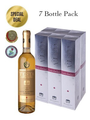 2015 LATE HARVEST VIDAL 500ml (7 Bottle Pack)