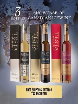 Showcase of Canadian Icewine 375ml (3 Bottles)