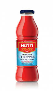 Mutti Chopped Tomatoes in Puree Sauce 24.5 oz.