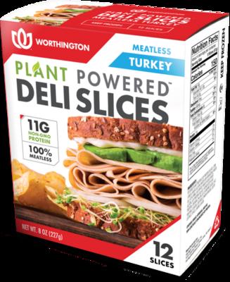 Worthington Meatless Turkey Deli Slices 12 ea/box