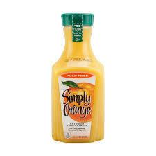 Simply Orange 100% Juice Pulp Free 52 Fl. Oz.