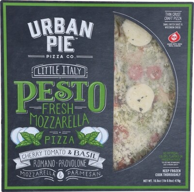 Urban Pie Little Italy Pesto Mozzarella Pizza