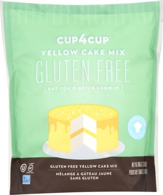 Cup 4 Cup Gluten Free Yellow Cake mix