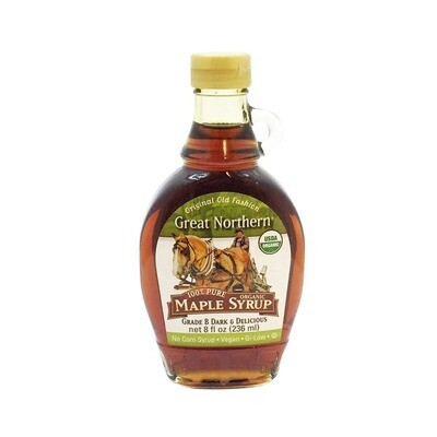 Great Northern Organic Maple Syrup 8 Oz