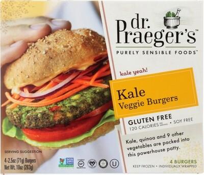 Dr. Praeger Kale Burger