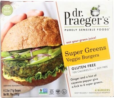 Dr. Praeger Super Green Burger