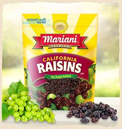 Mariani California Raisins 6 Oz