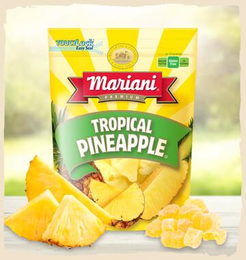 Mariani Dried Tropical Pineapple 6 Oz