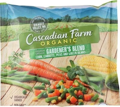 Cascadian OG VEG GARDENERS BLEND Frozen